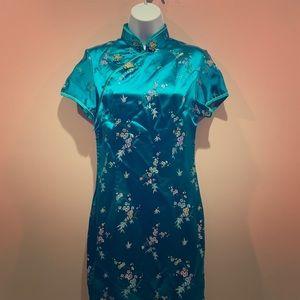 Halloween Vintage Geisha Dress M